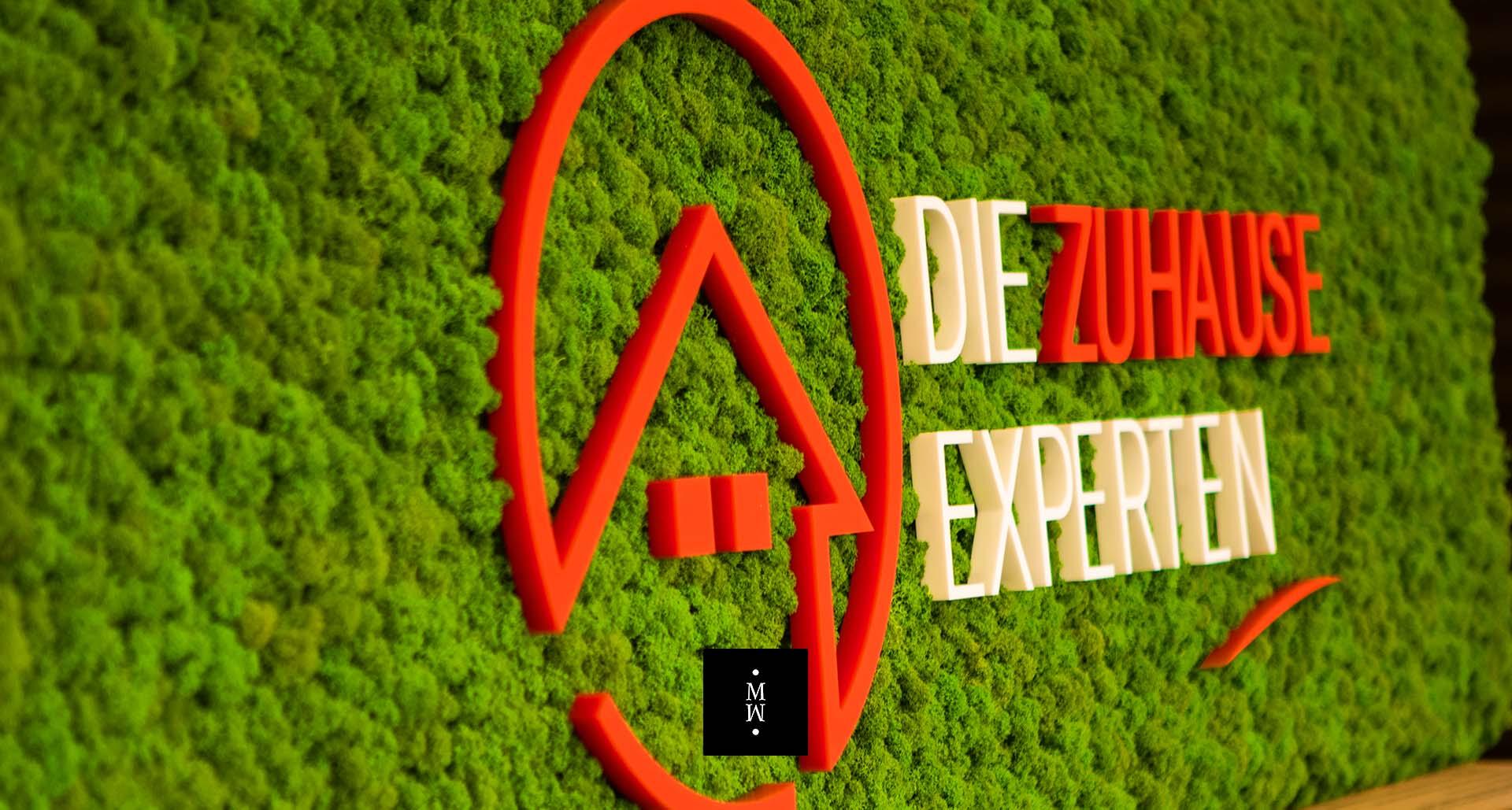Mooswand Islandmoos Die Zuhause Experten Logo